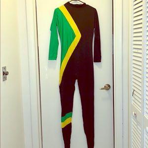 Bobsled Jamaican Halloween Bodysuit